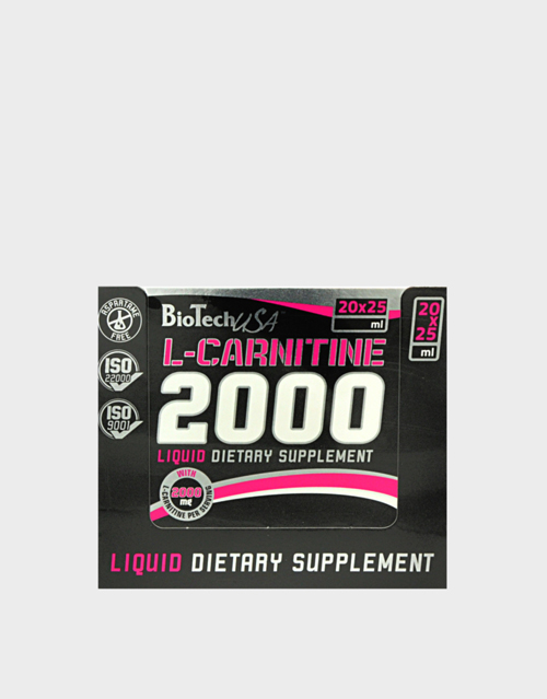 biotech-usa-l-carnitine-ampule-2000-20-fiale-da-25-m